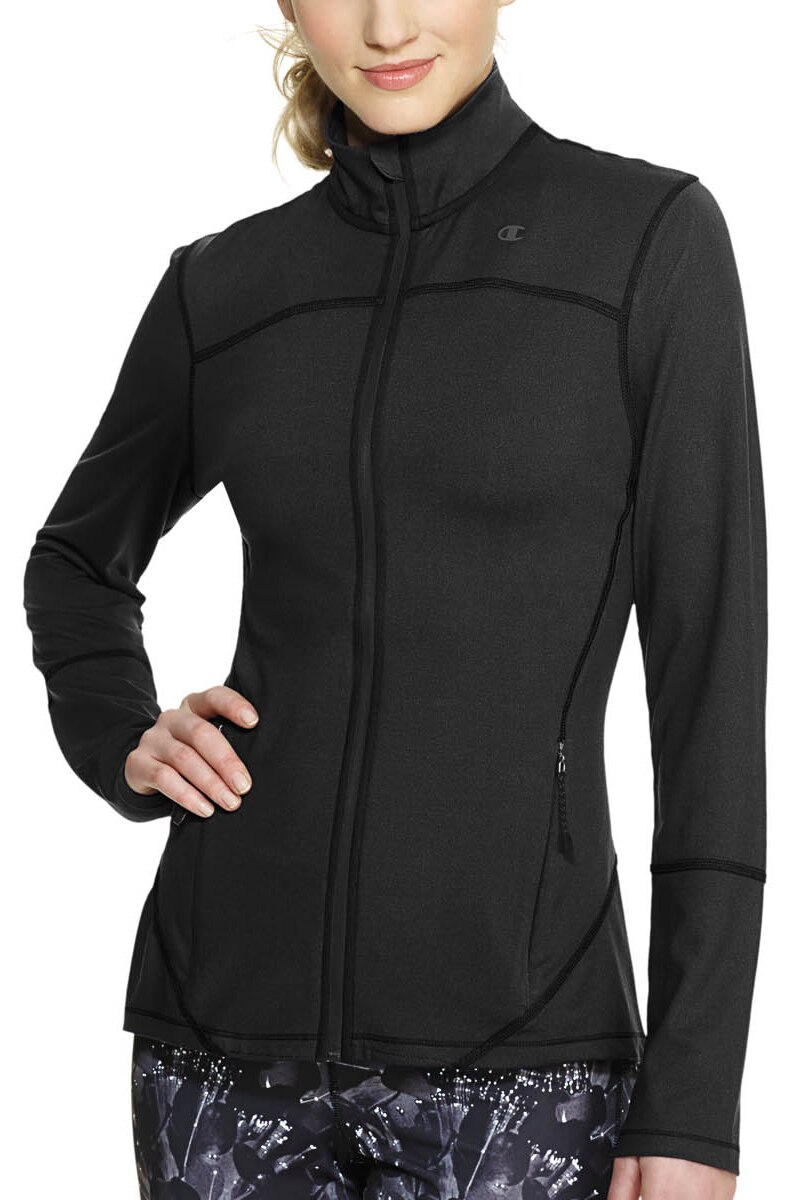 Image of Champion Absolute Workout Jacket - Black / L