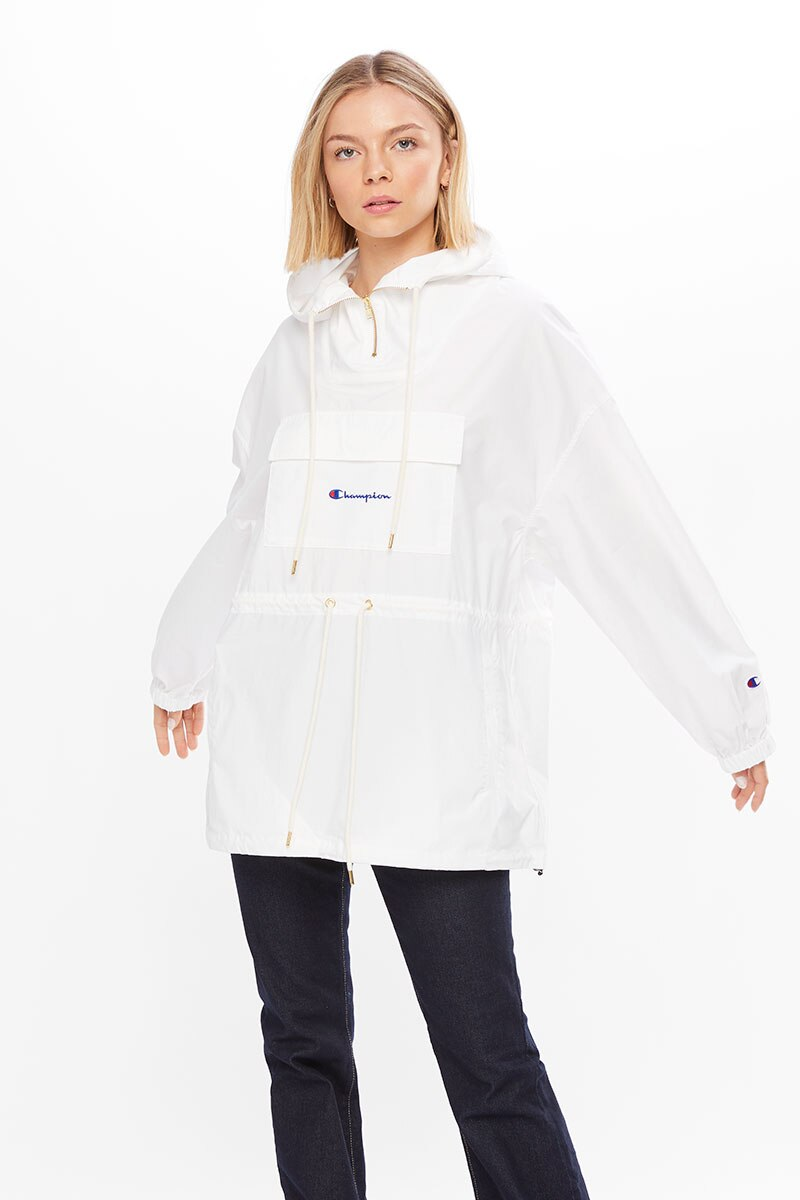 Image of Champion Anorak Jacket - White / L